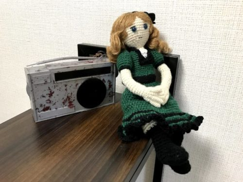 『キーリ』より少女人形を編んでみた